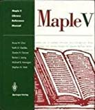 Maple Library Reference Manual 9780387975924
