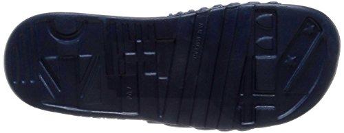 Adidas Performance Voolossage W sandalia, negro / blanco / negro, 5 M US Collegiate Navy/White/Collegiate Navy