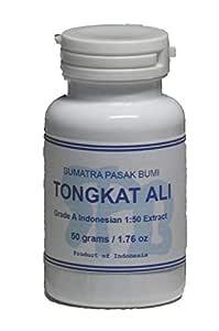 Tongkatali.org's Indonesian 1:50 Tongkat Ali Extract, 50 grams (1.76 oz)