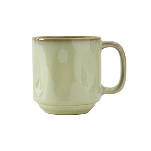 Tuxton Home Artisan Reactive Glaze Mug, 12 oz, Sagebrush; Restaurant Grade Nonporous Virtrified China; Thermal Shock Tested; Lead and Cadmium Free