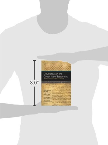 Devotions on the Greek New Testament: 52 Reflections to Inspire and Instruct by HarperCollins Christian Pub.