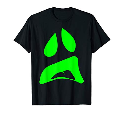 Big Ghost Face - Easy Couples Halloween Costume Idea T-Shirt