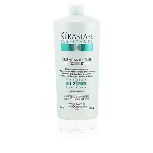 - Kerastase Resistance Ciment Anti-Usure Treatment Unisex Treatment by Kerastase, 34 Ounce