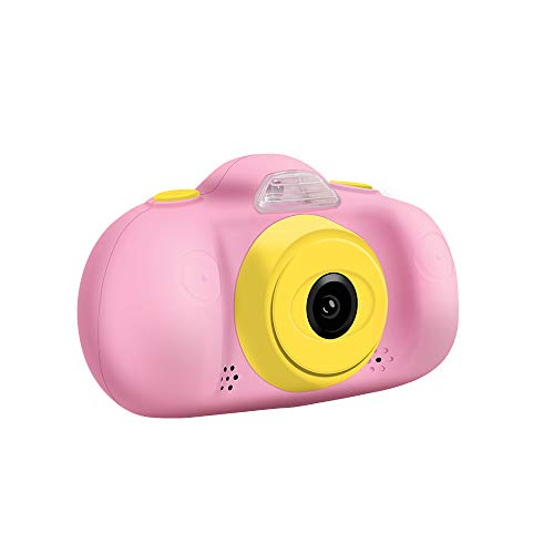 Andoer Kids Digital Camera Children Creative Camera 12MP 1080P HD Mini Video Camcorder 2.4 Inch LCD Screen Dual Lenses with Photo Video MP3 Game Modes
