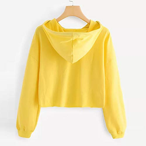Blouse Pullover Yellow Letters Sleeve Tops Hoodie Womens Sweatshirt Morwind Long xH7w8Yzq