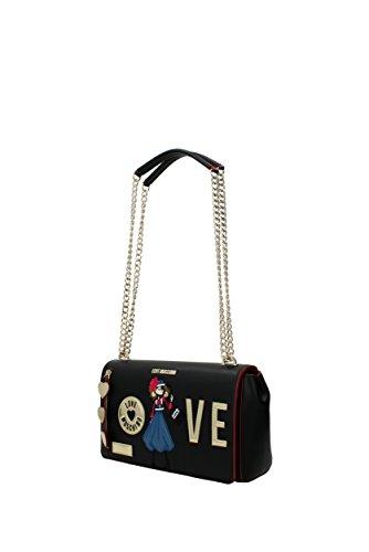 Borse a Spalla Love Moschino Donna - Poliuretano (JC4304PP04KM0) Nero
