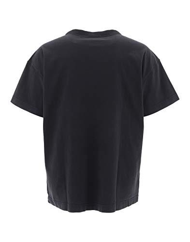Bl0006blk algod de Men camiseta negra Acne Studios gnSfq4Sz