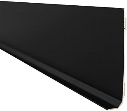 Ma Plinthe Deco Uni 14 80 Plinthe Noire Lot De 5 Plinthes Amazon Fr Bricolage