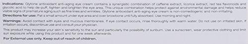 Glytone Age- Defying Antioxidant Eye Cream, 0.5 fl. oz