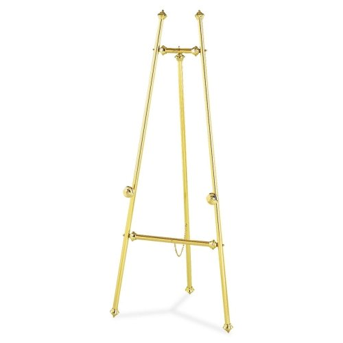 Quartet Flipchart Stand - 69'' Height - Brass
