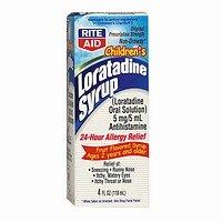 (Rite Aid Loratadine, Antihistamine, Syrup, Children, 4 oz.)