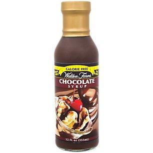 Walden Farms Chocolate Flavored Syrup 12 fl oz
