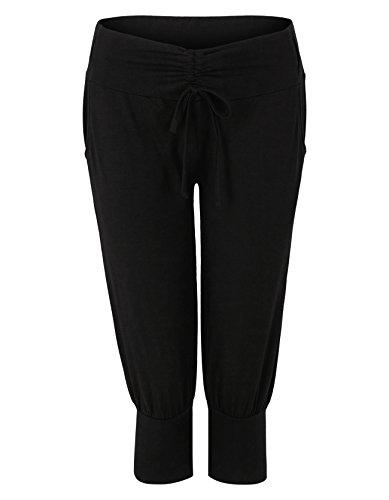 Ellinor De Yoga Noir Pants Beach Venice Pantalon Sport H5Oqqx