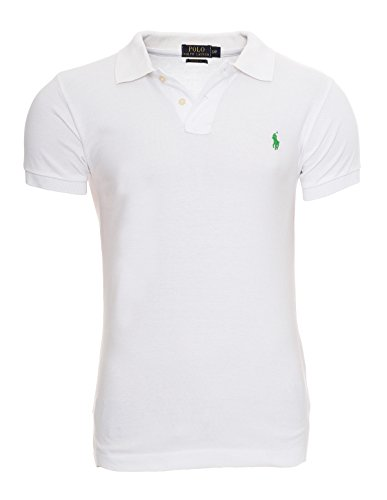 Ralph Blanc l Poney Homme Fit xl S Polo Lauren Custom m xxl Petit 76rF7qw