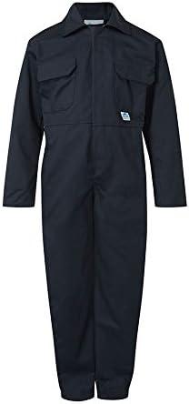 "Castle Clothing Children's Coveralls - Navy Blue (Chest Size = 24"")"