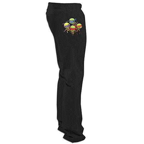 Glass Set Anaheim Ducks - CGH Seven Teenage Mutant Turtles Family Men's Training Pant Size3X Black