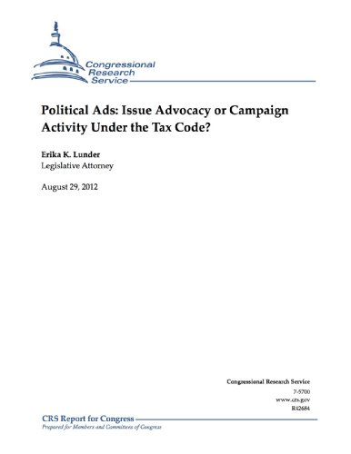 Political Ads: Issue Advocacy or Campaign Activity Under the Tax - Service Erika's Tax