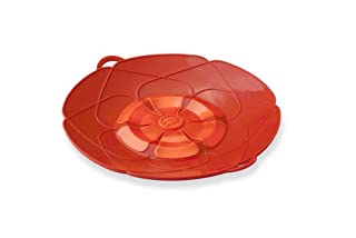Kuhn Rikon Spill Stopper Lid, Small 10-Inch, Red (B0071NI9DY) | Amazon price tracker / tracking, Amazon price history charts, Amazon price watches, Amazon price drop alerts