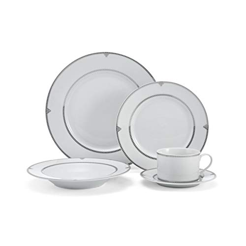 Mikasa 5224231 Regent Bead 40-Piece Dinnerware Set, Service for 8
