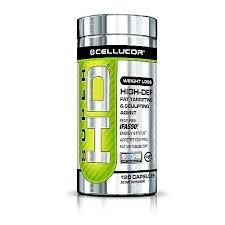 Perte Cellucor Super HD Poids, contrôle de l'appétit 120 Ct.