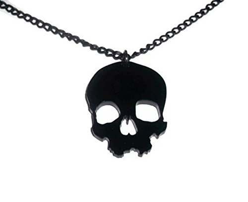 laser products bear cut licketycut death acrylic il radiohead necklace pendant