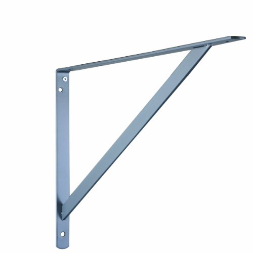 (John Sterling THE MAX BRACKET Shelf Bracket, 20-inch, Platinum, 0049-20PMH)