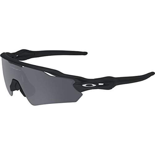Oakley Men's Radar EV Asian OO9275-01 Shield Sunglasses, Matte Black, 135 - Sunglass Asian Brands