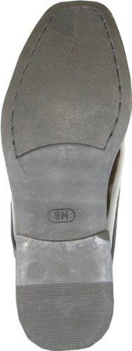 VANGELO Men's Tuxedo Shoes TUX-1 Wrinkle Free Dress Shoes Formal Oxford Black Patent 8.5M