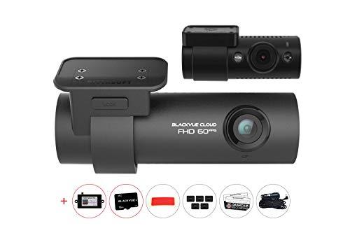 BlackvueBV-DR750S-2CH-16 + BV-PSPMP 2CH IR Infrared Dual Channel Dash Cam ()