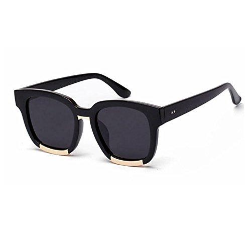 negro UV400 para TL sol Gafas de sobredimensionado de rojo Mujer Retro gafas gafas la Blu hembra sol Sunglasses sol de de UBnTxqwUAf