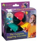 : Higgins Brothers Juggling Balls set of 3 and How to Juggle DVD - The Complete Juggling Ensemble