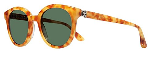 Chrome Hearts - Squibjibbler - Sunglasses (Honey Tortoise, Dark Green - Online Hearts Chrome Sunglasses