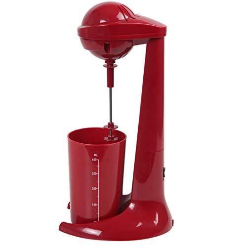 - ZZJSHM Fully Automatic Mixer Home Kitchen Fruit Blender with Double Mixing Blades 10 Liters Ground Meat Mixer for Superb Mixing Detachable Cups for Personal Use(Red)