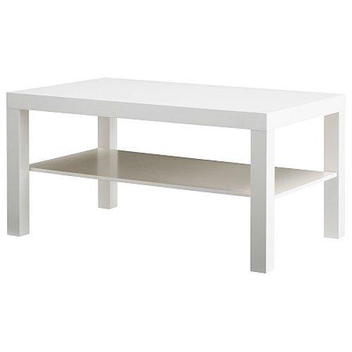 68859f7f9d47 Amazon.com  IKEA Lack Coffee Table - White  Kitchen   Dining