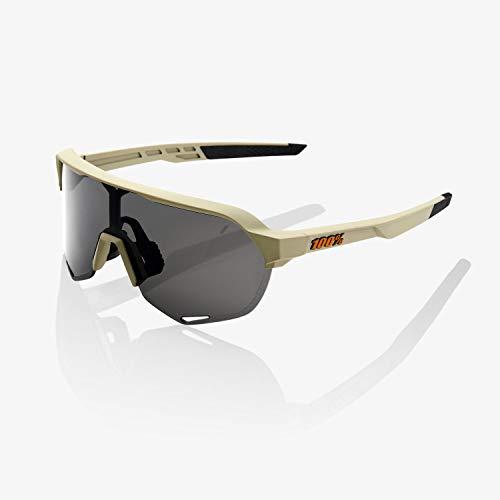 100% S2 Sunglasses-Soft Tact Quicksand-Smoke (S2-shop)
