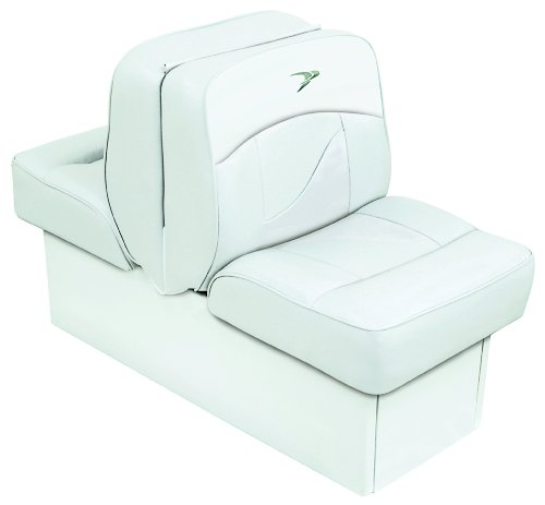 Wise 8WD1033-0030 Contemporary Series Lounge Seat, White (Wise Lounge)