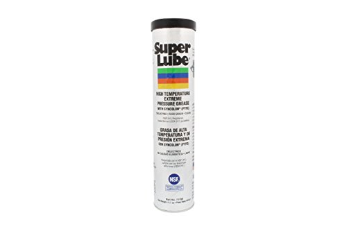 Super Lube 71150 High Temperature E.P. Grease, 14.1 oz Cartridge , - Food Grease