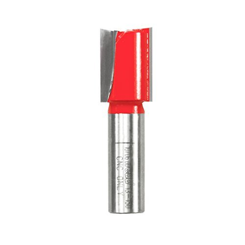 Freud 13-150 23//32-Inch Diameter by 1-Inch Height Super Hook Straight Router Bit with 1/2-Inch Shank for CNC Only by Freud