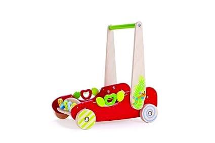 Hape 702828 - Carrito Infantil de Madera, diseño de Coche ...