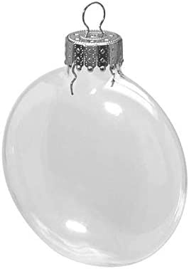 3 pieces Skull w 2.36 x 3.78 inches Glass Darice Halloween Ornament