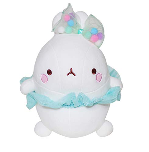Molang Toys Soft Cushion Stuffed Animal Plush Pet Ballerina Ballet Costume Rabbit Toy -