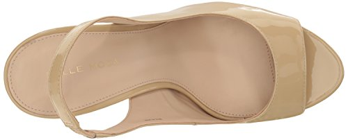 Boot Women's Pelle Gizmo Knee Moda Nude High wXwzq0Ax