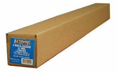 Film-Gard Polyethylene Sheeting 20' X 100' 4mil Clear