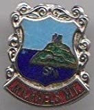 Penzance St. Michaels Mount Cornwall Town Crest / Flag Pin Badge