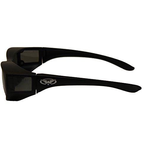 16d3d5cfde Escort Safety Glasses Over-Prescription Most Prescription Eyewear Smoke  Lenses Has Matching Side Lens to