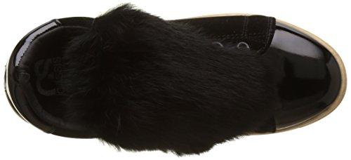 noir Neige Baskets D'azur Noir Cassis Cote Basses Femme Aq4g0g