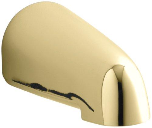 Polished Brass Non Diverter - Kohler K-373-S-PB Devonshire 4.4375