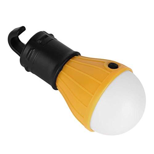 ZengBus L/ámpara de Camping 3 LED port/átil Senderismo Linterna Luz L/ámpara de Carpa Exterior Accesorios para Actividades al Aire Libre universales Amarillo