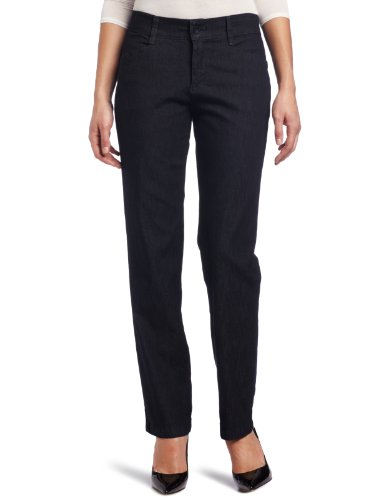 - Lee Women's Petite Relaxed Fit Plain Front Straight Leg Pant, Indigo Rinse, 10 Small