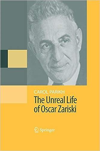 Bloggat om Unreal Life of Oscar Zariski
